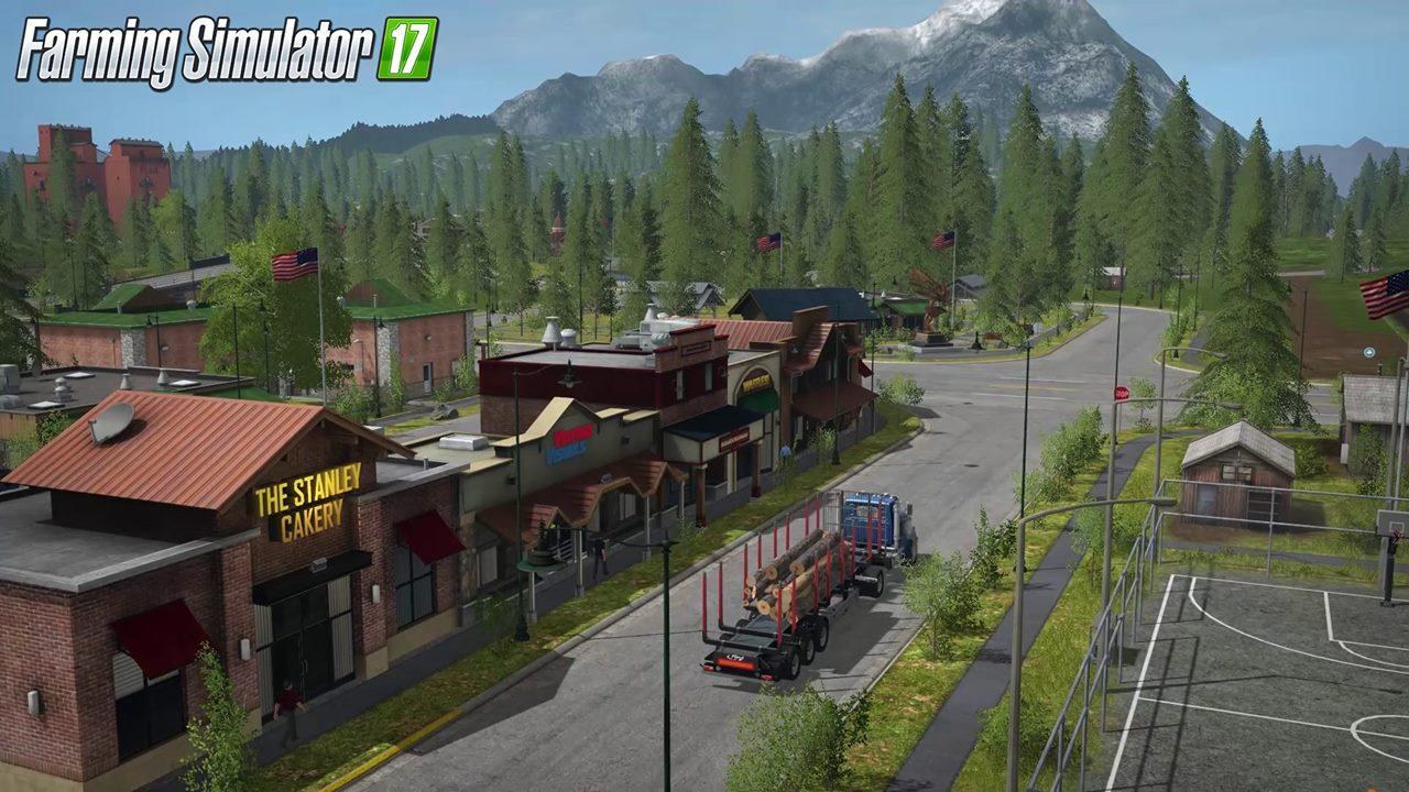 Farming Simulator New Environment LS Mods Farming - Us map mod fs 17