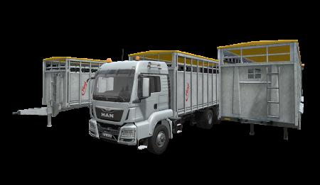 Fliegl Animal Transport Pack 1 0 Ls17 Farming Simulator