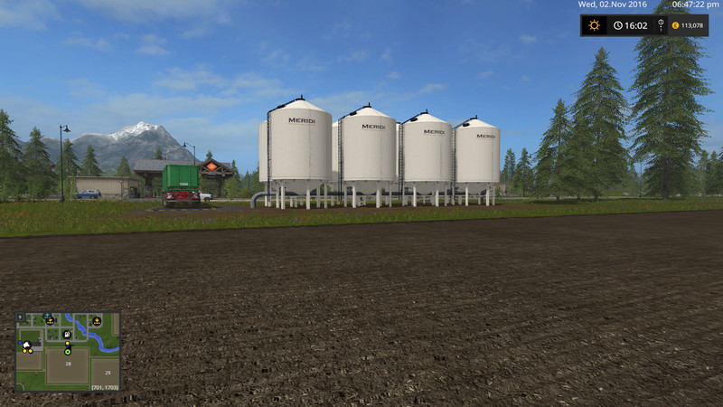 Cow Silo For Placement In Ge V 1 0 Ls17 Farming
