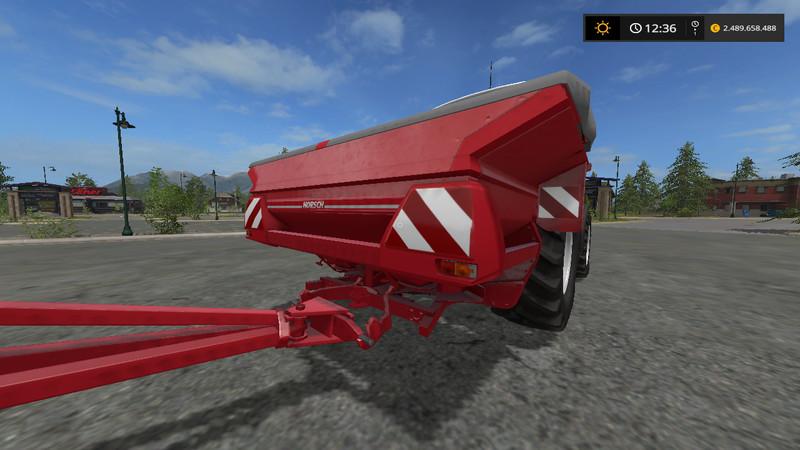 Horsch Panther HT 2800 V 1 1 0 0 Trailer - Farming Simulator 2017