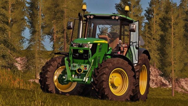 John Deere 6115m V1 2 Ls17 Farming Simulator 2017 Mod