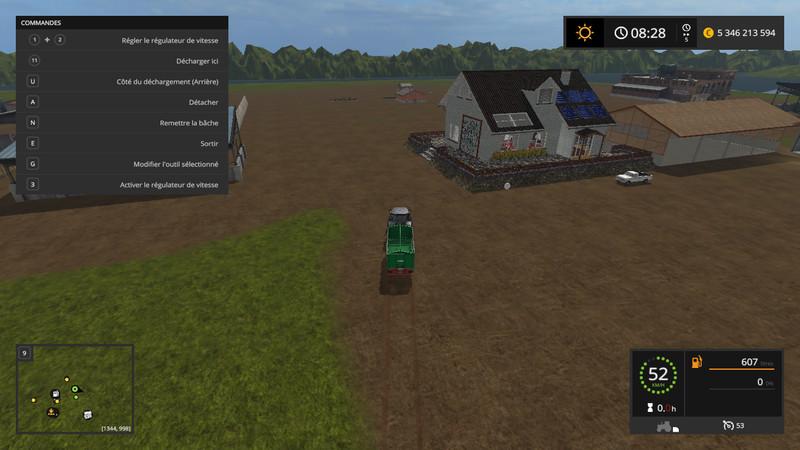 minimap land v 1 2 fs2017 farming simulator 2017 mod ls 2017 mod fs 17 mod. Black Bedroom Furniture Sets. Home Design Ideas