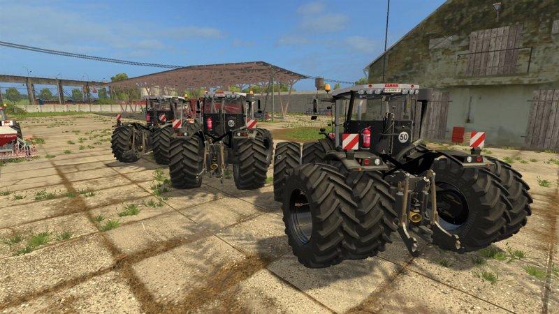 Claas Xerion 3800 Vc Black Tractor Farming Simulator