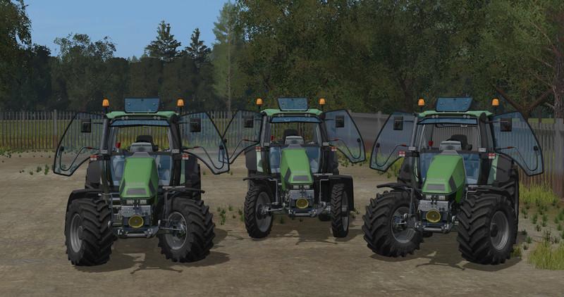 Deutz Fahr 120 Mk3 V 1 17 For Ls 17 Farming Simulator