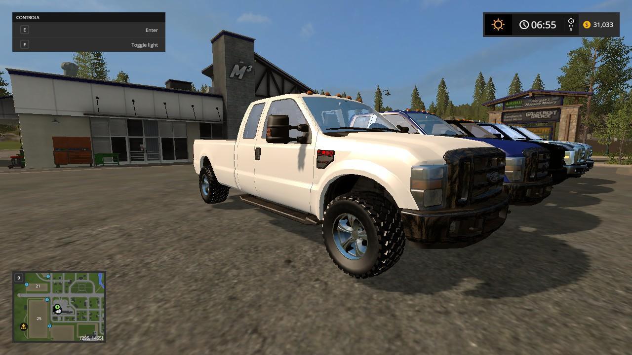 Ford Pickups Converted V1 0 For Ls17 Farming Simulator