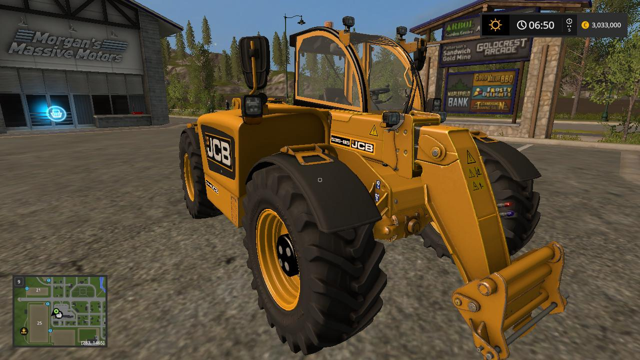 jcb telehandler v1 fs 17 farming simulator 2017 mod ls 2017 mod