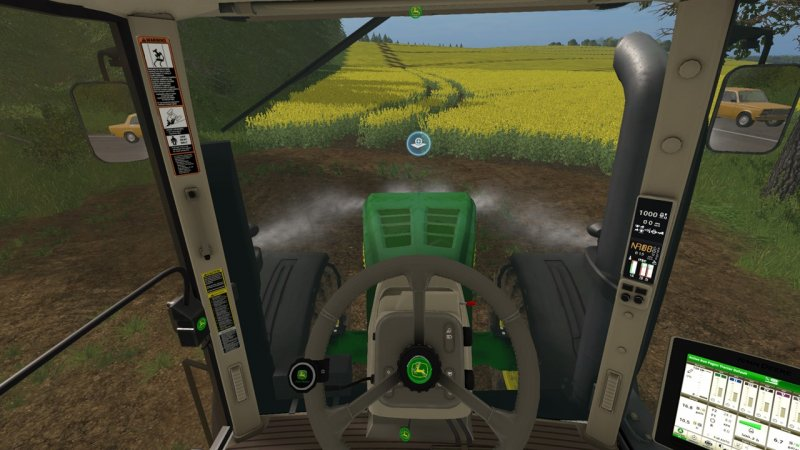 JOHN DEERE 7R LS17 - Farming Simulator 2017 mod, LS 2017 mod / FS 17 mod