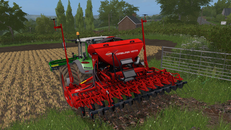 Kuhn Hr 404 And Venta Lc 402 V 1 0 Ls 2017 Farming
