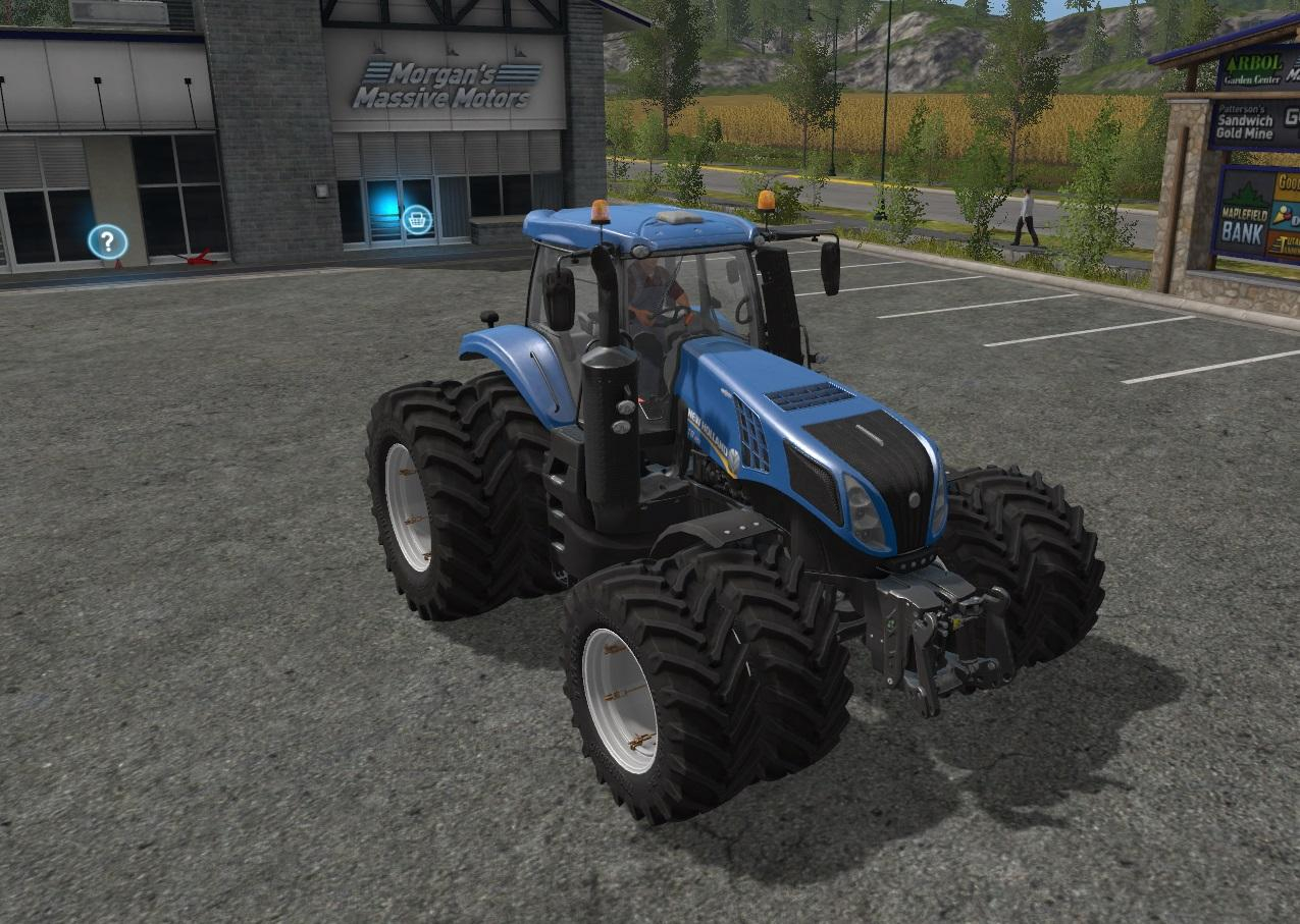 New Holland Tire Rims : New holland t dual wheels v ls farming