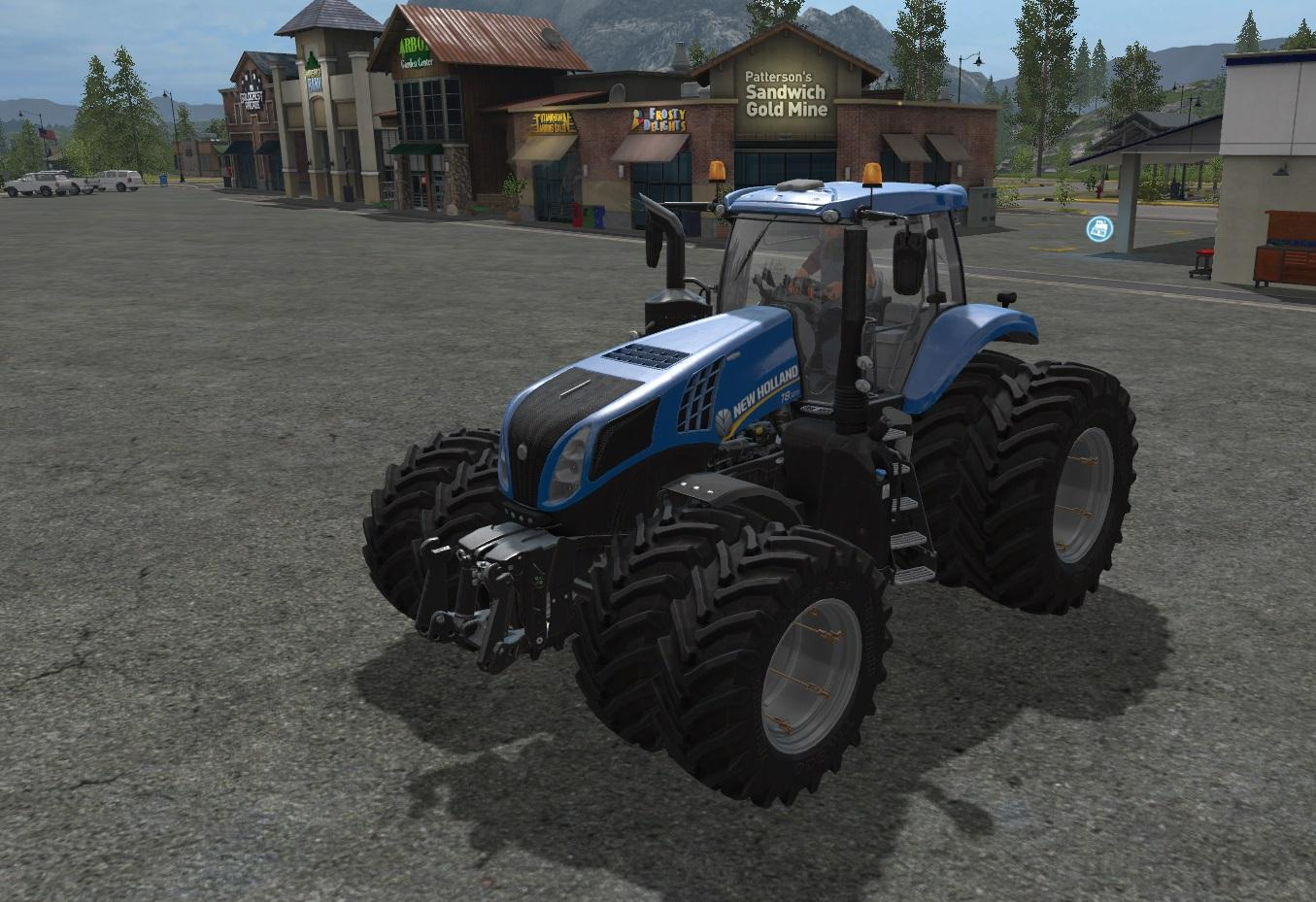 New Holland Tire Rims : New holland t dual wheels v tractor farming simulator