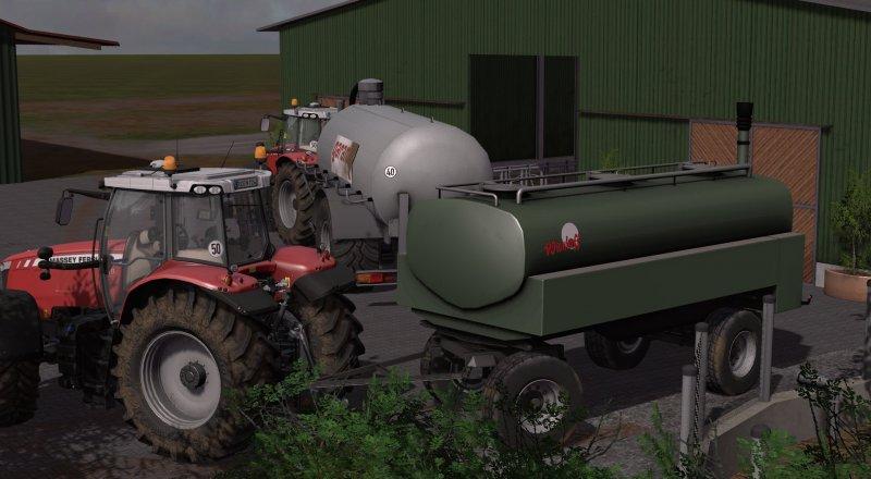 Wienhoff Zubringer 20000 For Ls 17 Farming Simulator
