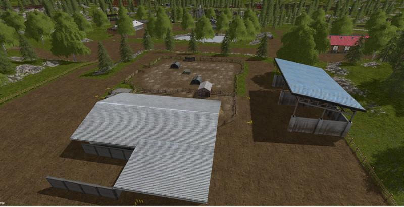 GOLDCREST VALLEY XXL HOF V1 0 Map - Farming Simulator 2017