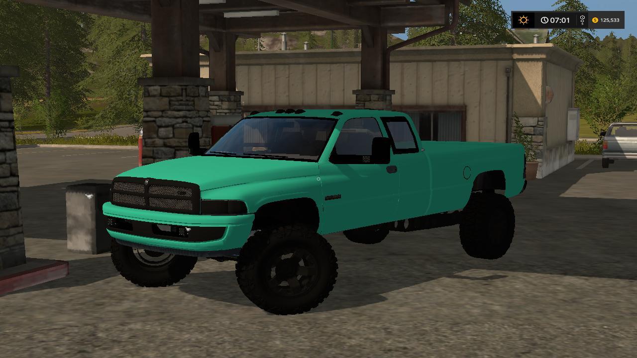 Mint Green 2nd Gen Dodge 3500 Cummins V1 Ls17 Farming Simulator 2017 Mod Ls 2017 Mod Fs 17 Mod