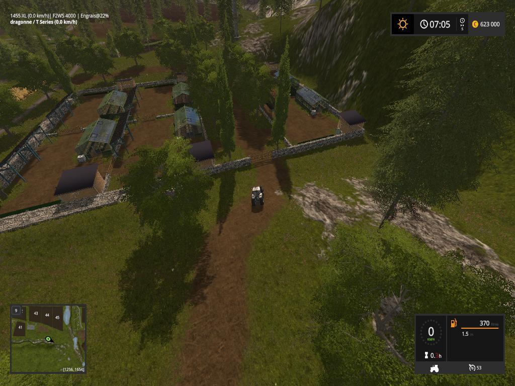 VALL FARMER MULTIFRUITS V2 FS17 - Farming Simulator 2017 mod