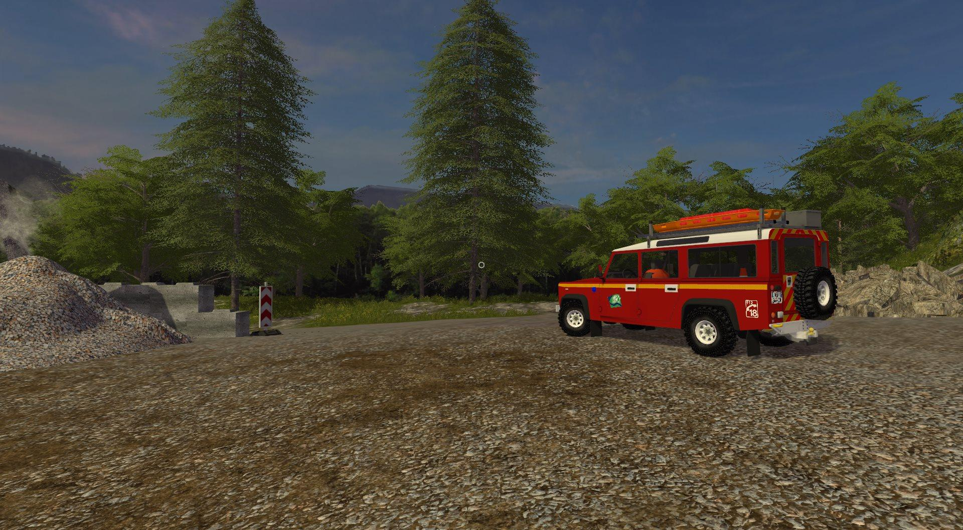 Vlhr Land Rover Defender V1 Ls 17 Farming Simulator 2017