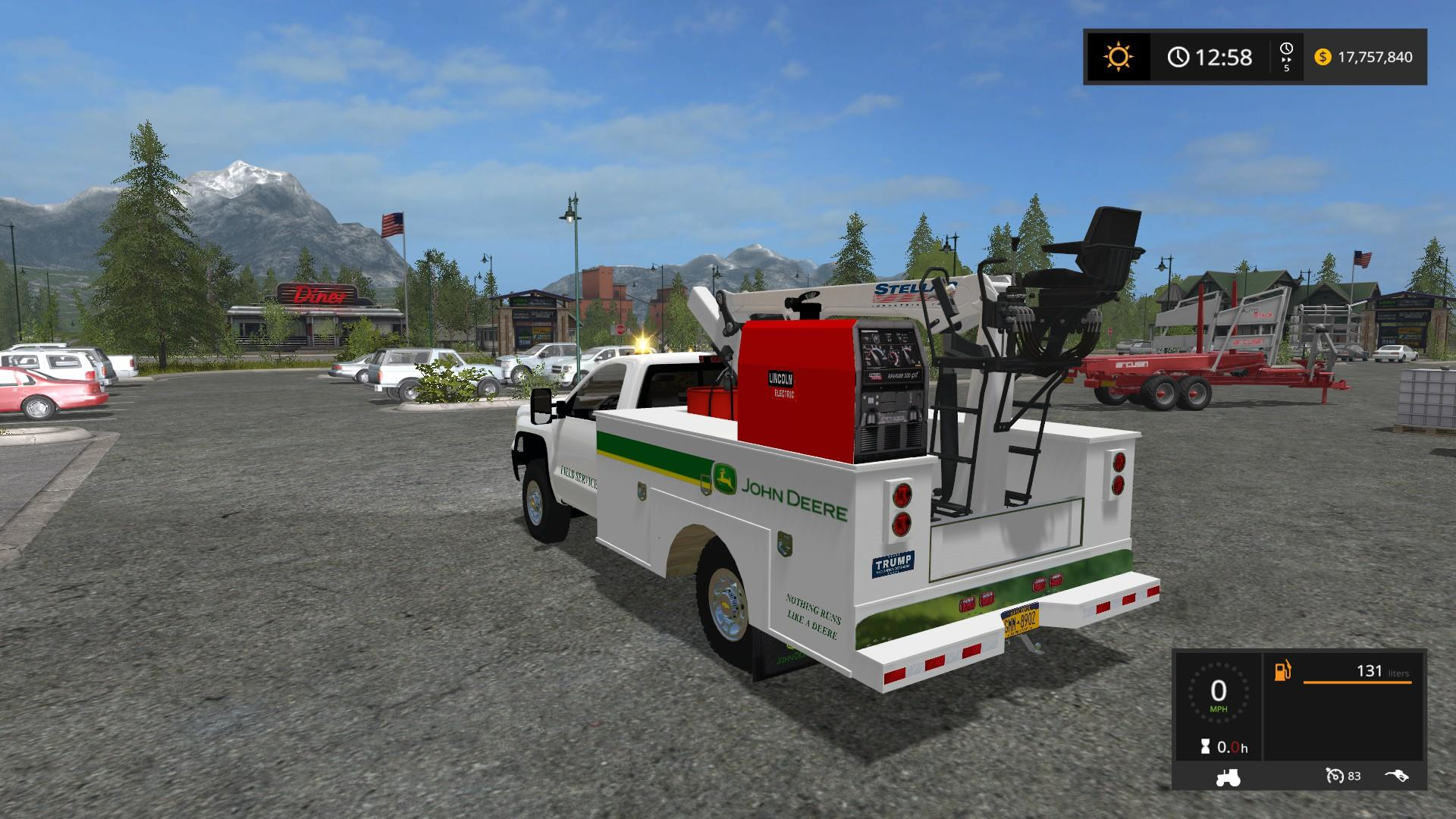 2016 Chevy Silverado 3500hd Service Truck For Fs 17