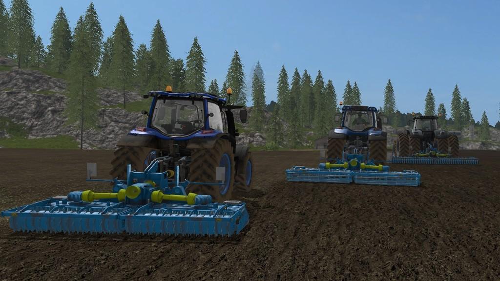 Its Lemken 5x Pack V2 4 Mod Farming Simulator 2017 Mod