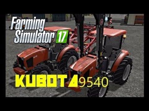 KUBOTA 9540 for LS17 - Farming Simulator 2017 mod, LS 2017 mod / FS