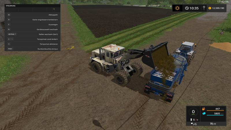 SiloMixer V 8/02M wsb Trailers - Farming Simulator 2017 mod, LS 2017