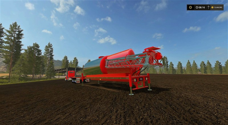 Sprayer For Peterbilt Daycab V 1 1 0 0 Trailers Farming
