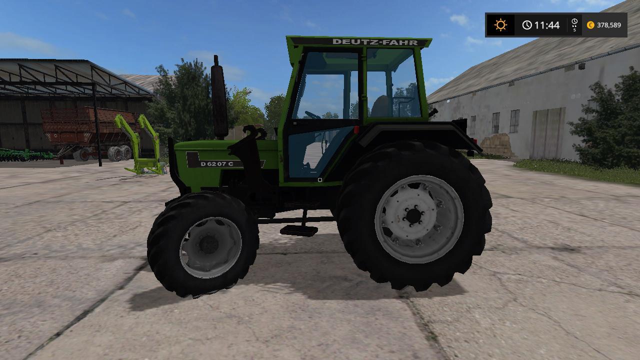 Deutz D6207 V1 0 For Ls17 Farming Simulator 2017 Mod Ls