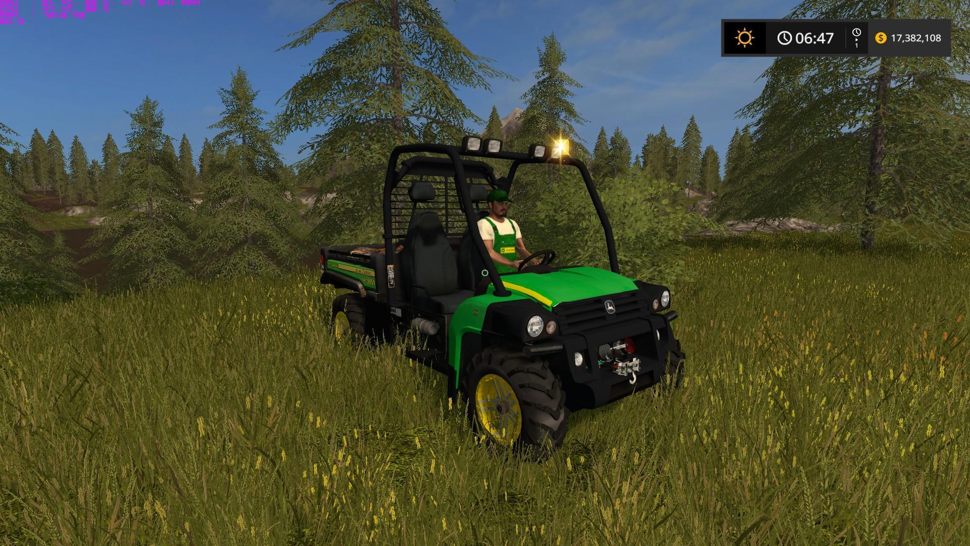 John Deere Gator Plow >> JOHN DEERE GATOR HPX DIESEL - LAMBOEDIT V1.1 LS 17 - Farming Simulator 2017 mod, LS 2017 mod ...