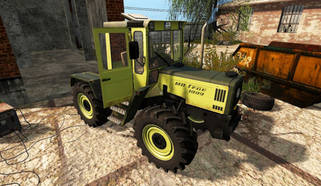 Ganz und zu Extrem MB trac 1000-1100 Version 1.1.0.0 for FS 2017 - Farming Simulator @ZD_34