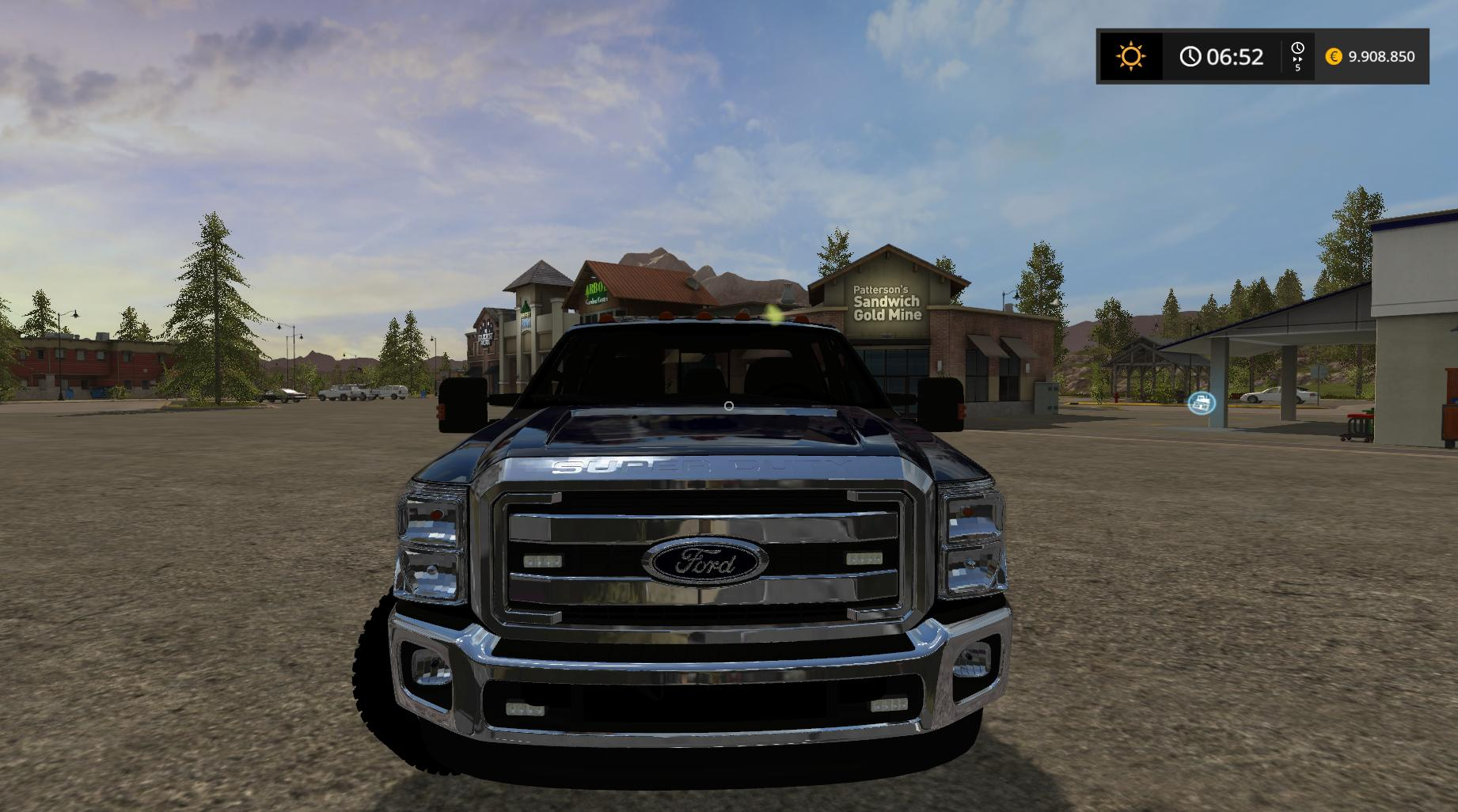 Ford F350 Work V1 0 For Fs17 Farming Simulator 2017 Mod
