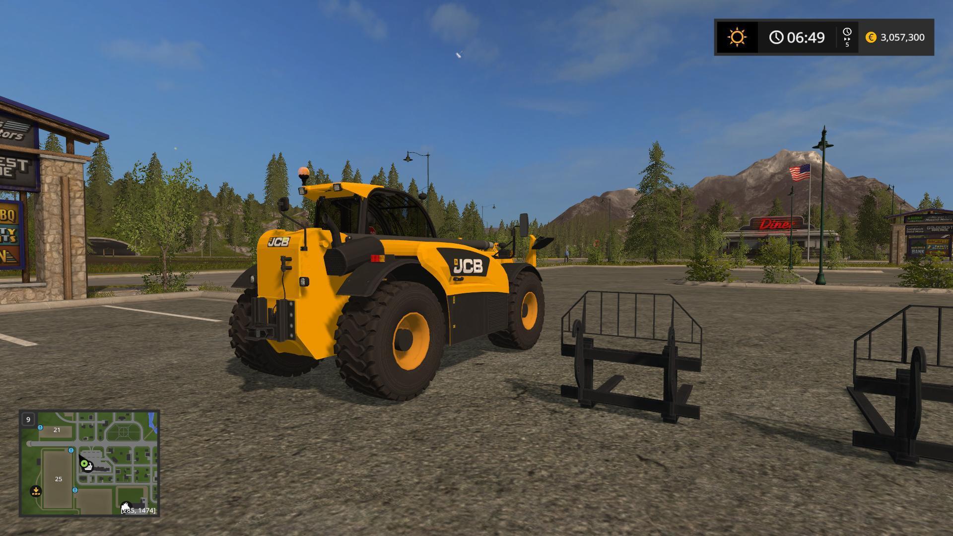 Jcb 536 70 V1 0 Fs17 Farming Simulator 2017 Mod Ls 2017