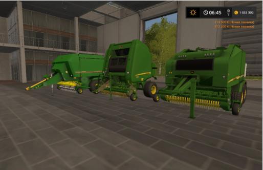PVAK TUBEPRESS JOHN DEERE V3 0 for FS 17 - Farming Simulator 2017