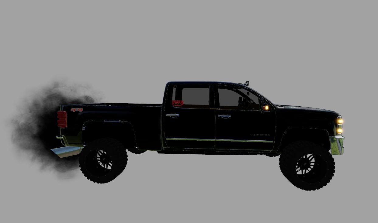 Chevy Silverado Flatbed
