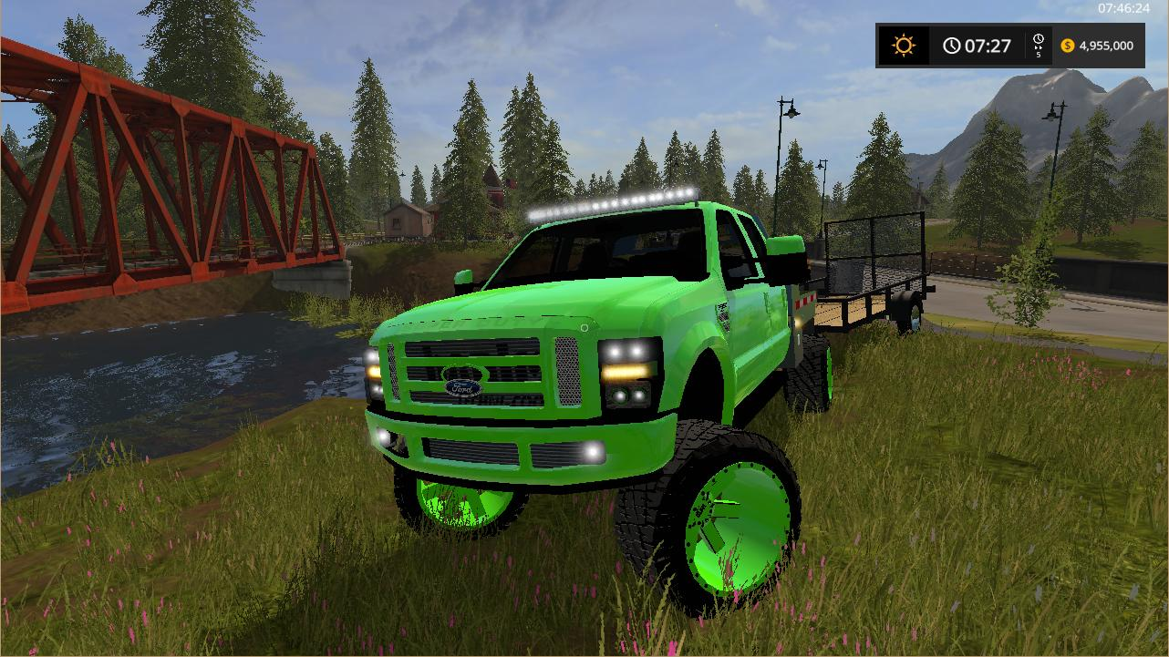 FORD F-350 Lifted V1 Trucks - Farming Simulator 2017 mod ...