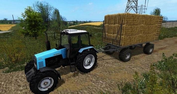 Hw80 Strohwagen Ual V1 0 Trailer Farming Simulator 2017
