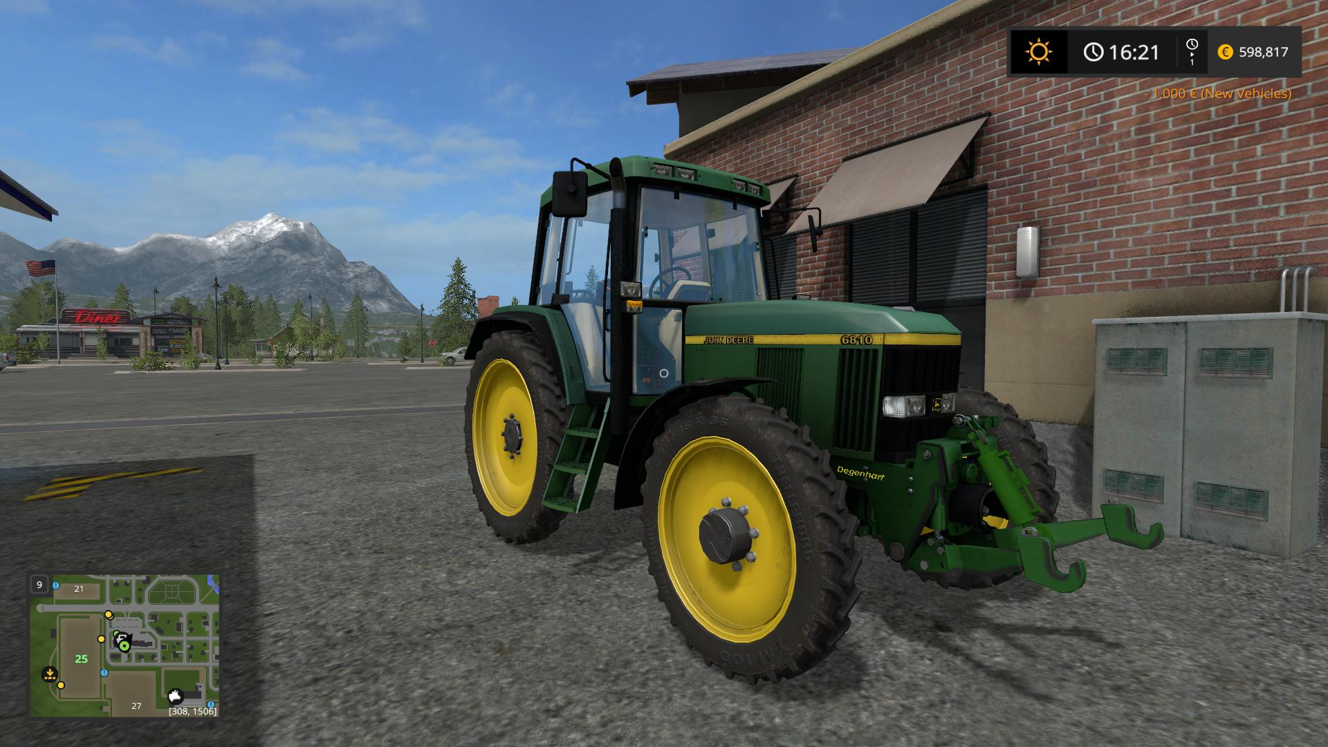 how to change reverse speed of a mod fs 17