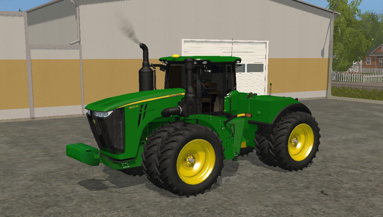 John Deere Xuv >> JOHN DEERE 9470R V1 Washable LS 17 - Farming Simulator 2017 mod, LS 2017 mod / FS 17 mod