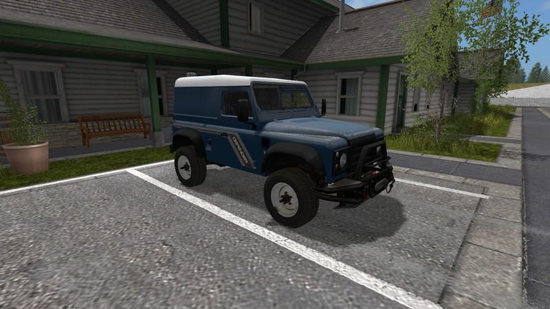 Land Rover Defender 90 V 1 0 0 0 For Fs17 Farming