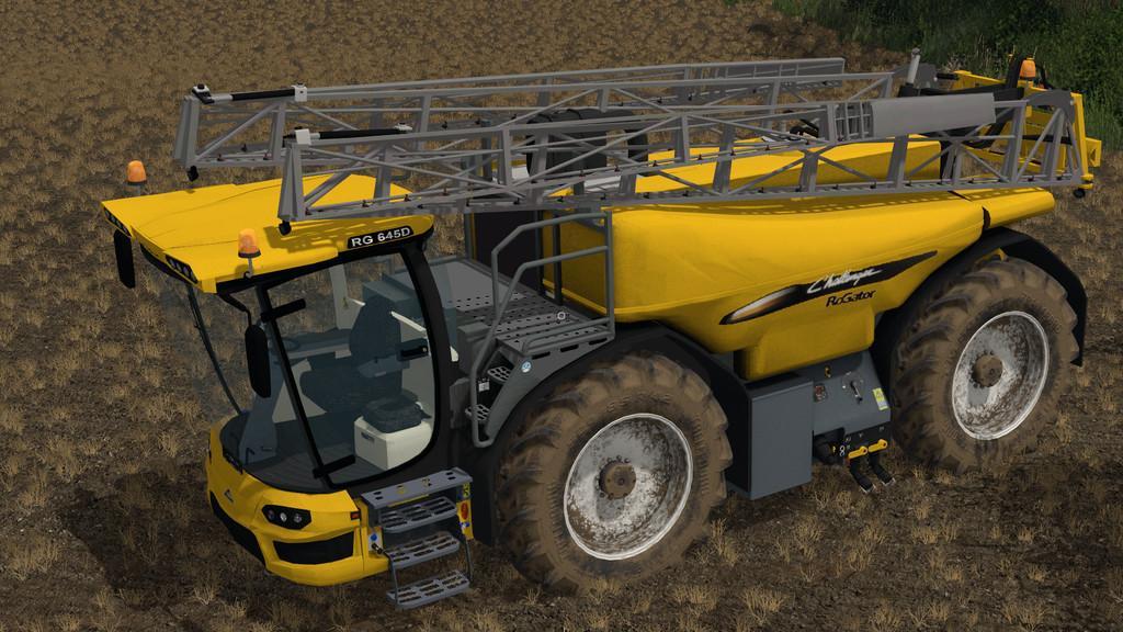 Challenger Rogator 645d V1 0 0 0 For Ls 17 Farming Simulator 2017 Mod Ls 2017 Mod Fs 17 Mod