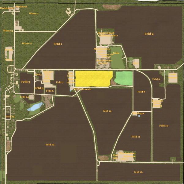 Halle Peissen Ddr V 4 0 Maps Farming Simulator 2017