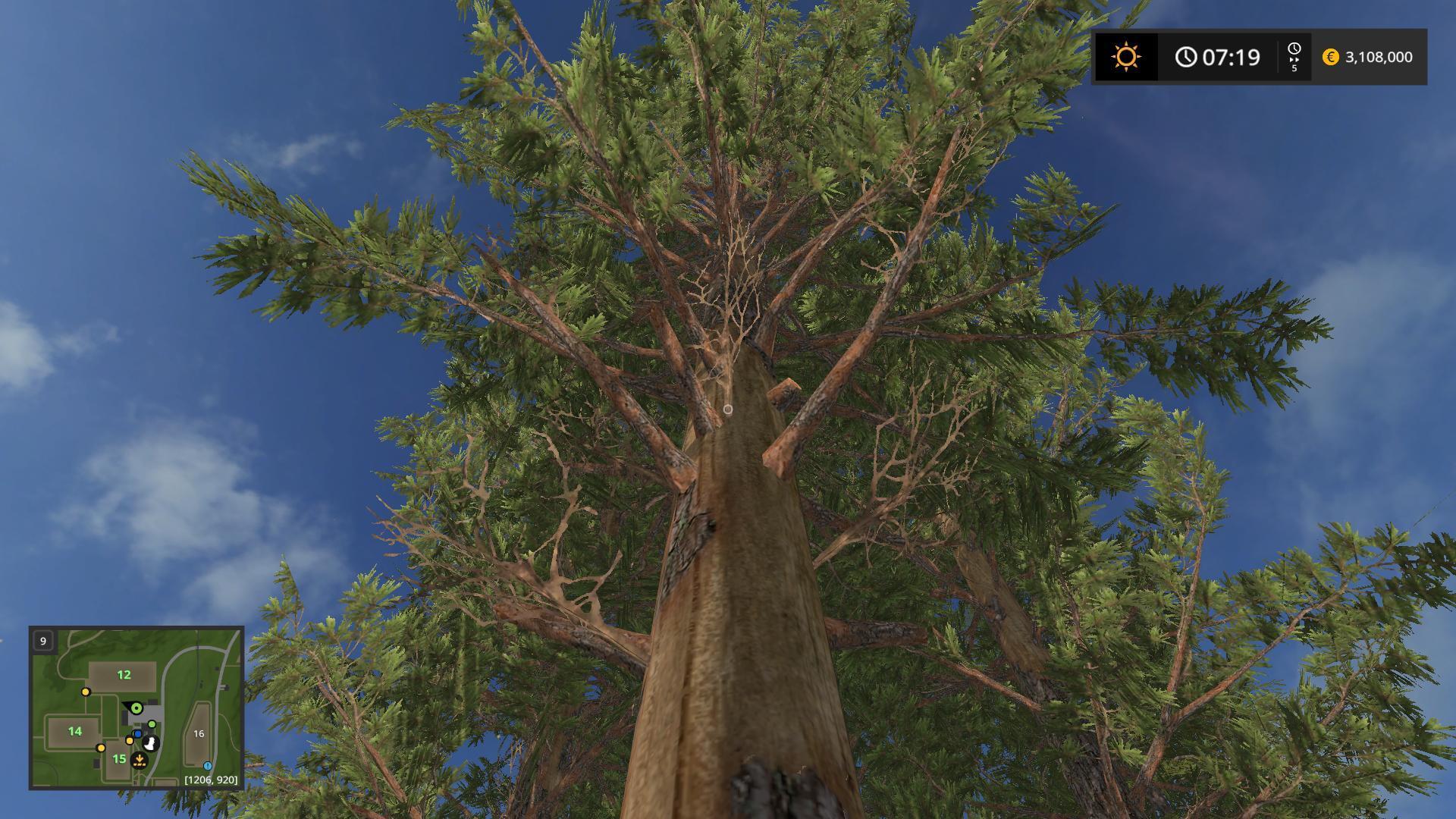 TALL PINE TREES V1.0 for FS 2017 - Farming Simulator 2017 ...