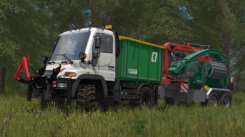 Unimog U400 V 1 2 For Ls17 Farming Simulator 2017 Mod