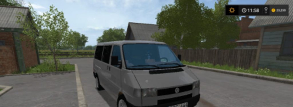 Car Simulator Games >> VW TRANSPORTER V 1.0 LS17 - Farming Simulator 2017 mod, LS 2017 mod / FS 17 mod