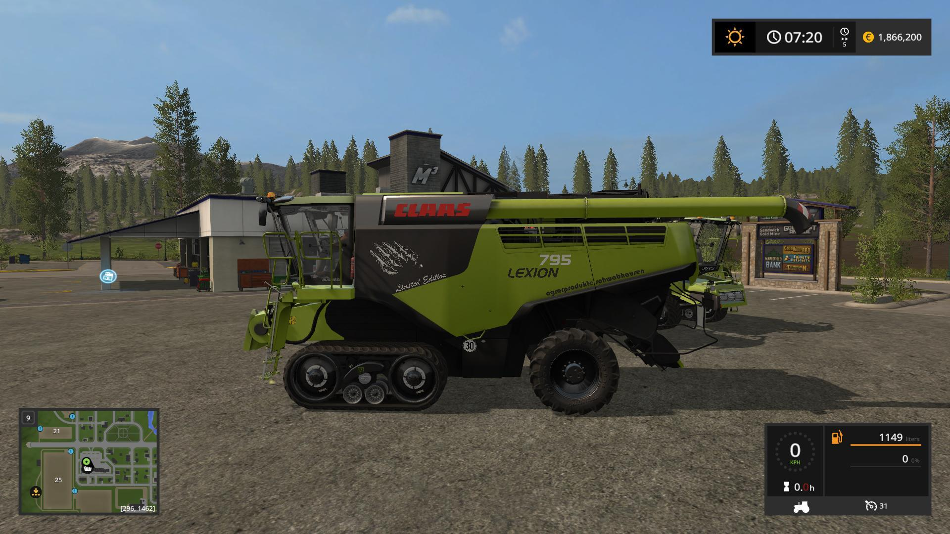 Gemeinsame CLAAS LEXION 795 MONSTER V1.0 for FS17 - Farming Simulator 2017 &DF_84