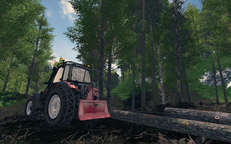 Same Fortis Forestry Edition V 1 0 0 0 for LS17 - Farming