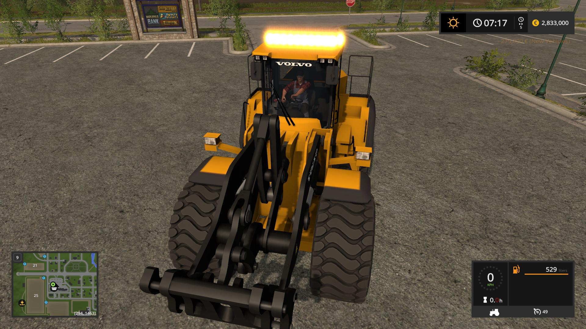 Volvo L220h V4 0 Mod Farming Simulator 2017 Mod Ls 2017