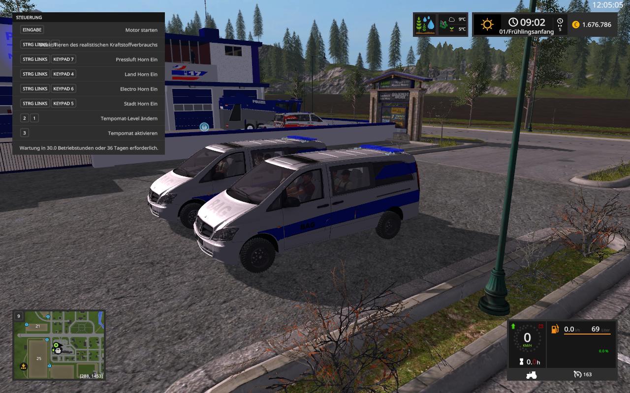 Car Simulator Games >> Police Car FS17 - Farming Simulator 2017 mod, LS 2017 mod / FS 17 mod