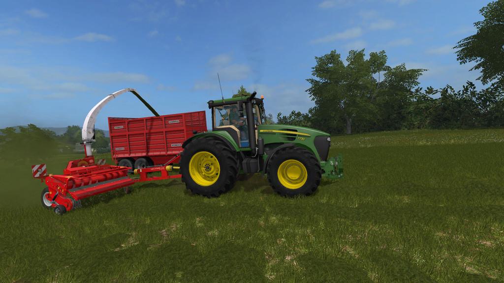 Lely P300 Silage Harvester FS2017 - Farming Simulator 2017