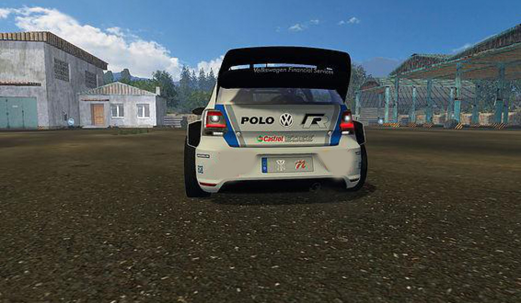 vw polo wrc v1 0 mod farming simulator 2017 mod ls 2017 mod fs 17 mod. Black Bedroom Furniture Sets. Home Design Ideas