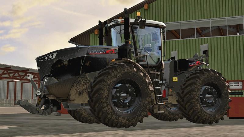 Fendt Vario T Black New Front V 2 0 Ls17 Farming