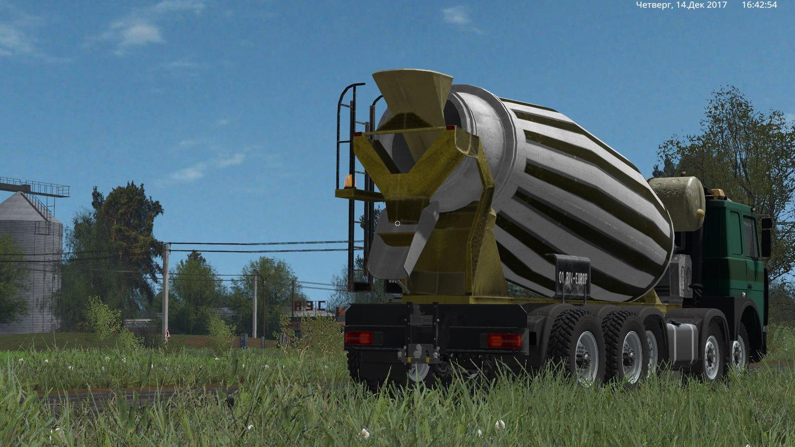 Build Your Own Cement Mixer ~ Maz concrete mixer v for ls farming simulator