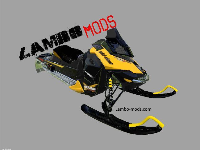 SNOWMOBILE SKI DOO - MOD RELEASE BETA for FS 2017 ...